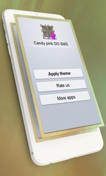 Candy pink GO SMS screenshot 5