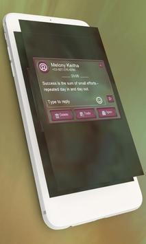 Candy pink GO SMS screenshot 8