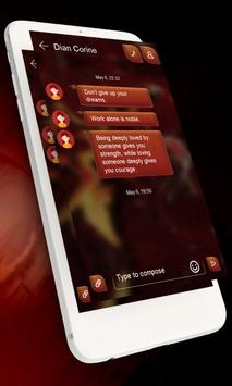 Chic flowers GO SMS apk screenshot