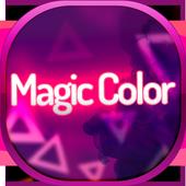 Magic Color SMS Theme icon