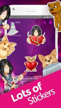Magic Color SMS Theme apk screenshot