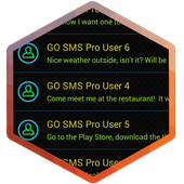 Neon Colors SMS Theme icon