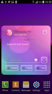 GO SMS Color Flash apk screenshot