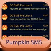 Pumpkin GO SMS icon