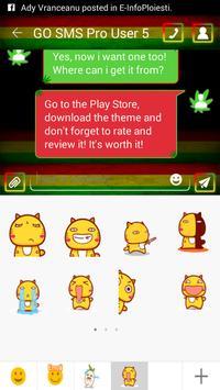 Rasta SMS Theme apk screenshot