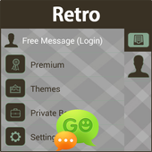 GO SMS Retro icon