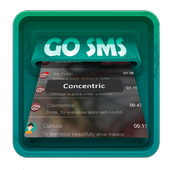 Concentric SMS Art icon