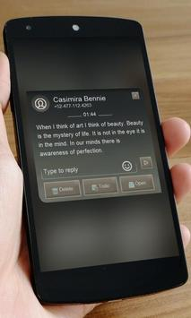 Caramel light SMS Art screenshot 2
