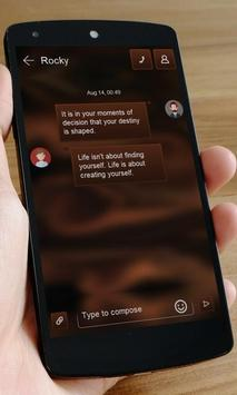 Caramel SMS Art apk screenshot