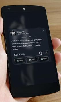 Chic grey SMS Art screenshot 6