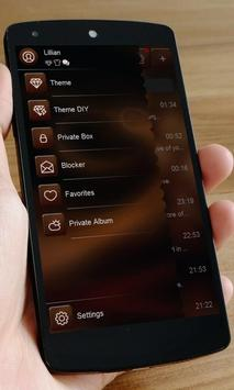 Chocolate SMS Art apk screenshot