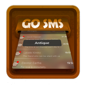 Antique SMS Art icon