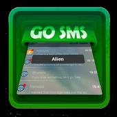 Alien SMS Art icon