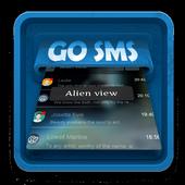 Alien view SMS Art icon