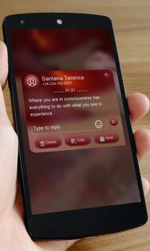 Bood dream SMS Art apk screenshot