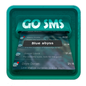Blue abyss SMS Art icon