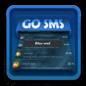 Blue soul SMS Art icon