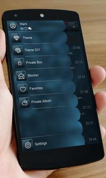 Blue soul SMS Art apk screenshot