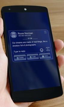 Blue start SMS Art screenshot 2