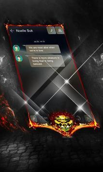 Black hole SMS Cover apk screenshot