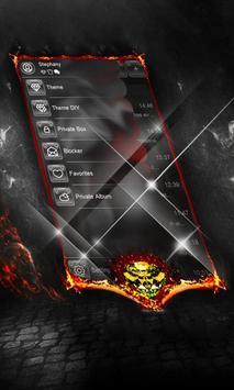 Blood SMS Cover apk screenshot