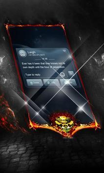 Blue gravity SMS Cover apk screenshot