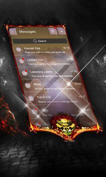 Charcoal Net SMS Cover screenshot 4