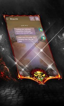 Charcoal Net SMS Cover screenshot 5