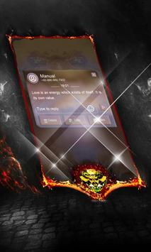 Charcoal Net SMS Cover apk screenshot