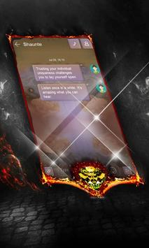 Charcoal Net SMS Cover screenshot 1