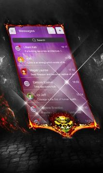 Charcoal Swift SMS Cover screenshot 4