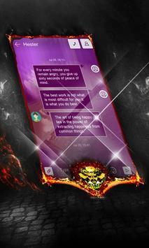 Charcoal Swift SMS Cover screenshot 1