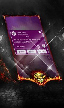 Charcoal Swift SMS Cover screenshot 2