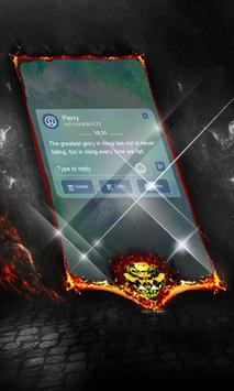Claw Spin SMS Cover apk screenshot