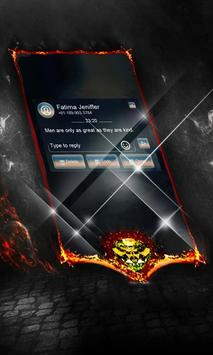 Dark sensation SMS Cover apk screenshot