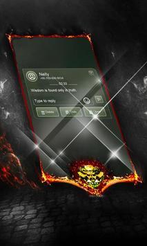 Electric dew SMS Cover apk screenshot