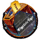 Electric rains SMS Cover icon