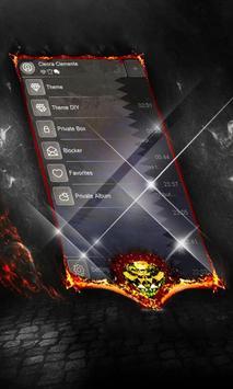Electric rains SMS Cover apk screenshot