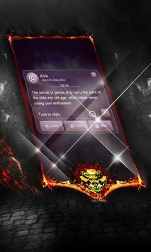Epic purple SMS Cover screenshot 2