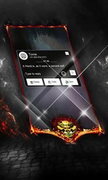 Fossil Clock SMS Cover apk screenshot