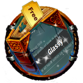 Glassy SMS Cover icon