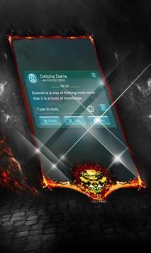 Glassy SMS Cover apk screenshot