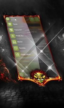 Jet Charcoal SMS Cover apk screenshot