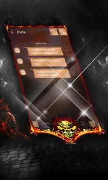 Caramel SMS Layout apk screenshot