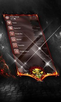 Crepuscular SMS Layout apk screenshot