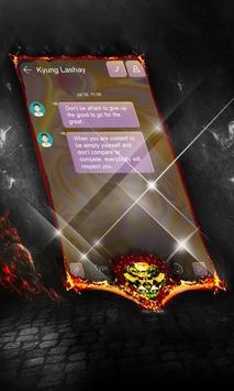 Cute yellow SMS Layout apk screenshot