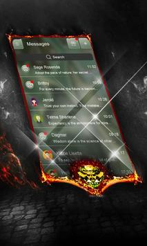 Apocalyptic SMS Layout apk screenshot