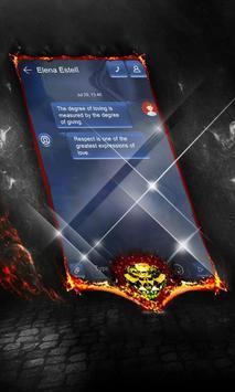 Blue tonic SMS Layout apk screenshot