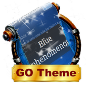 Blue phenomenon SMS Layout icon