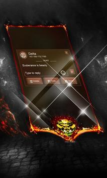 Blurred line SMS Layout apk screenshot